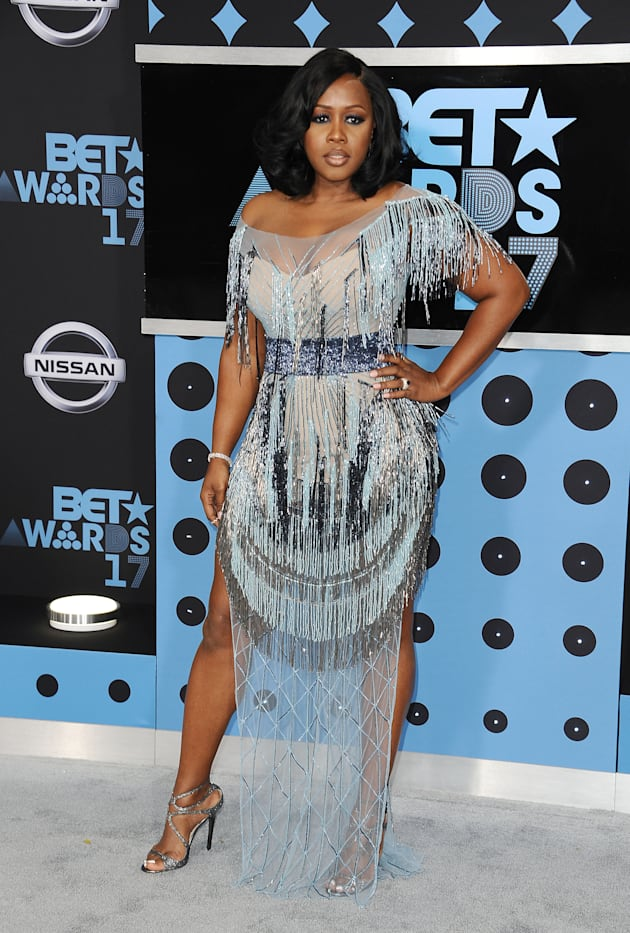 Rapper Remy Ma attends the 2017 BET Awards at Microsoft Theater on June 25, 2017 in Los Angeles, California....
