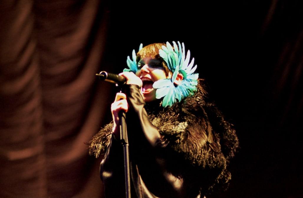 Björk - Sängerin, Pop, Island - Auftritt beim Hurricane Festival in Scheeßel (bei Bremen)