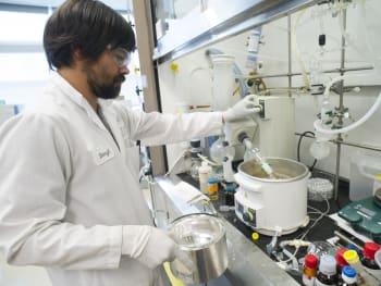 Inside of a Gilead Sciences Lab