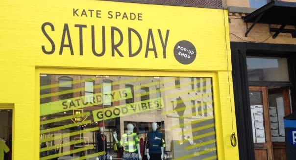 Kate Spade Saturday's Meatpacking pop-up shop