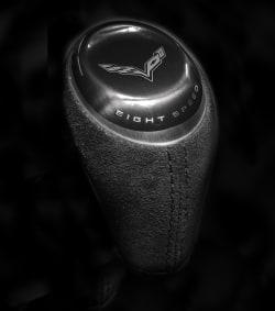 2015 Chevrolet Corvette Stingray automatic shifter