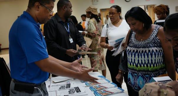 "Baptist Church In Brooklyn Holds ""Beyond The Dream"" Job Fair"