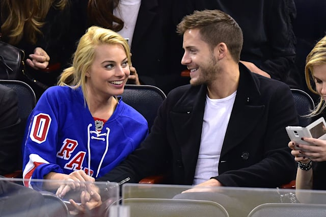 Celebrities Attend Arizona Coyotes Vs New York Rangers Game - February 26, 2015