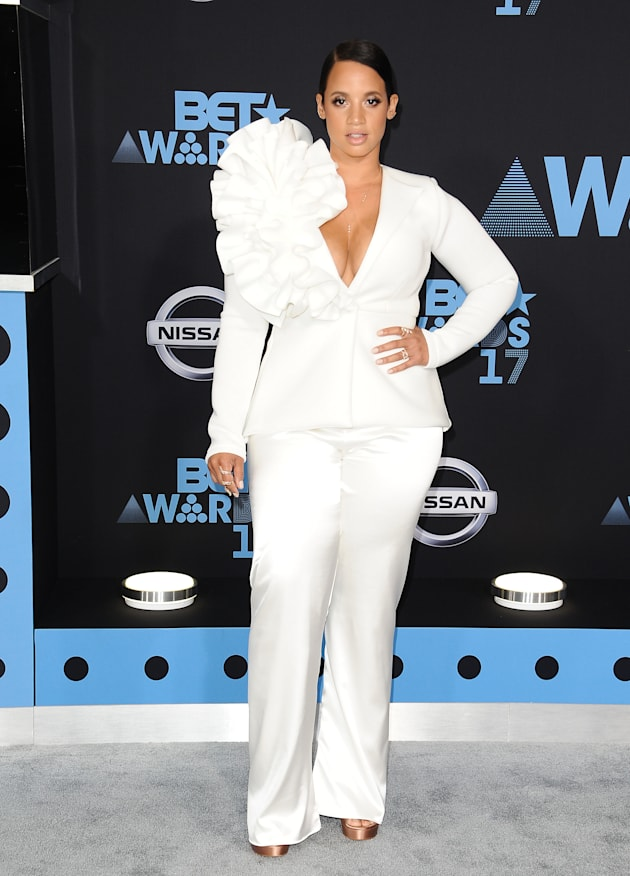 Actress Dascha Polanco attends the 2017 BET Awards at Microsoft Theater on June 25, 2017 in Los Angeles,...