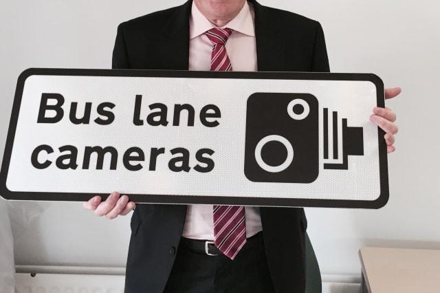 Bus lane camera generates £1m in driver fines