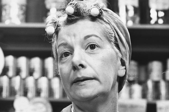 Actress Jean Alexander as Hilda Ogden, 1970