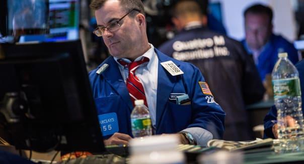 Dow Drops Sharply As Oil Drops Below $50 A Barrel