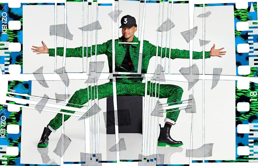 Chance The Rapper for H&M X