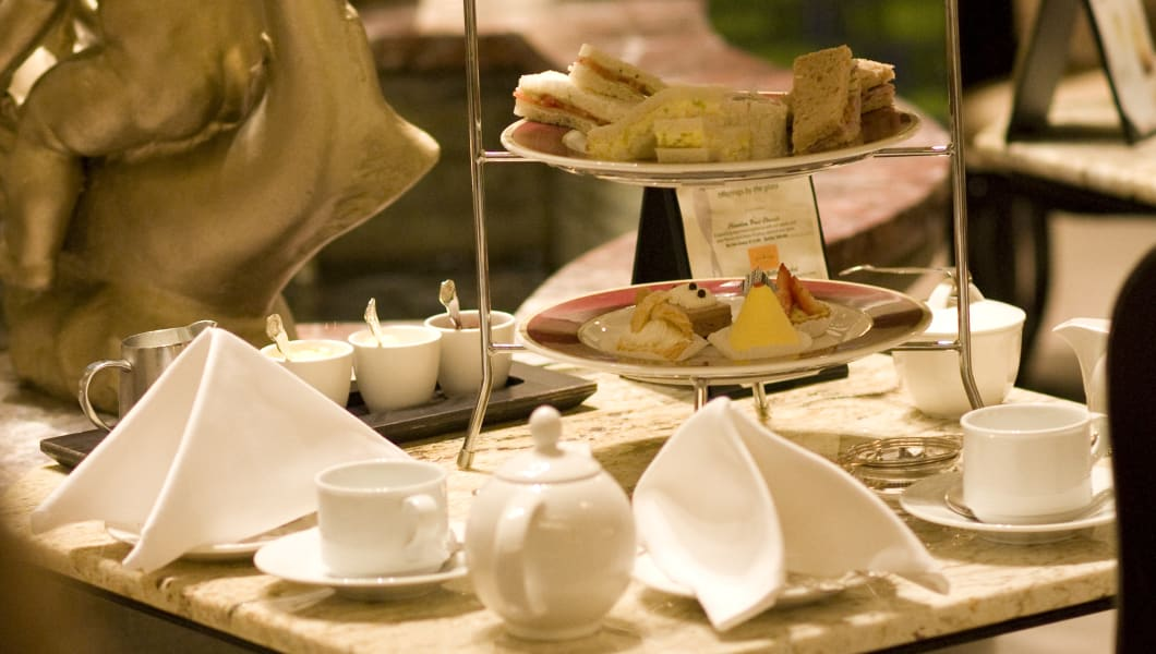 Afternoon tea at Chicago's Drake Hotel