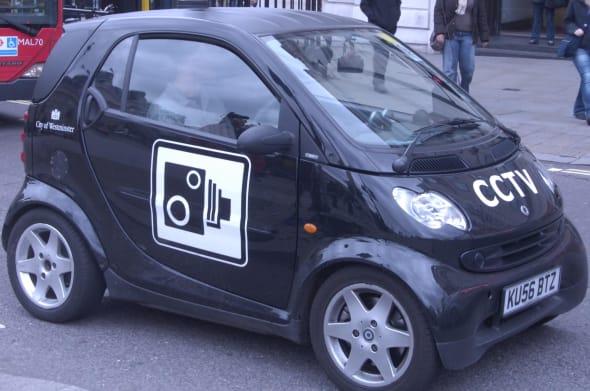 Traffic Enforcement CCTV Car