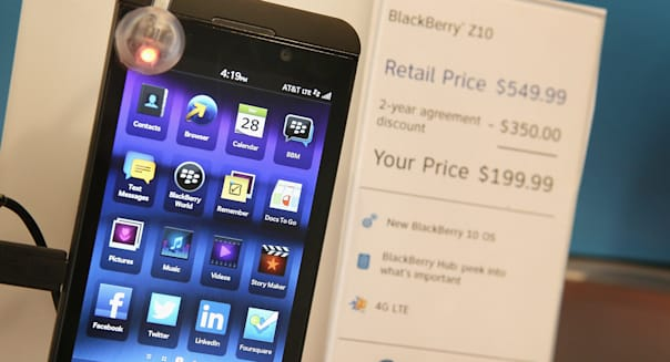 RIM Reports Second Profitable Quarter After Launch Of BlackBerry Z10 Phone