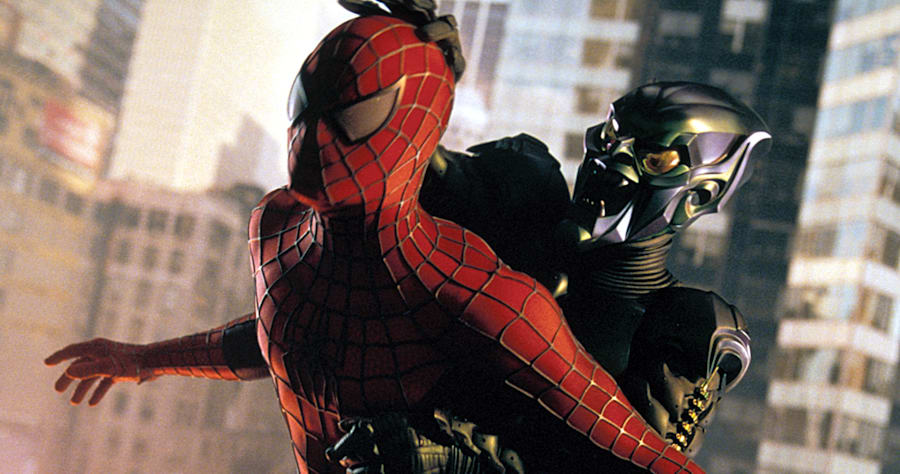 PHOTO: EAST NEWS/EVERETT COLLECTIONSPIDER-MAN, Willem Dafoe, Tobey Maguire, 2002,