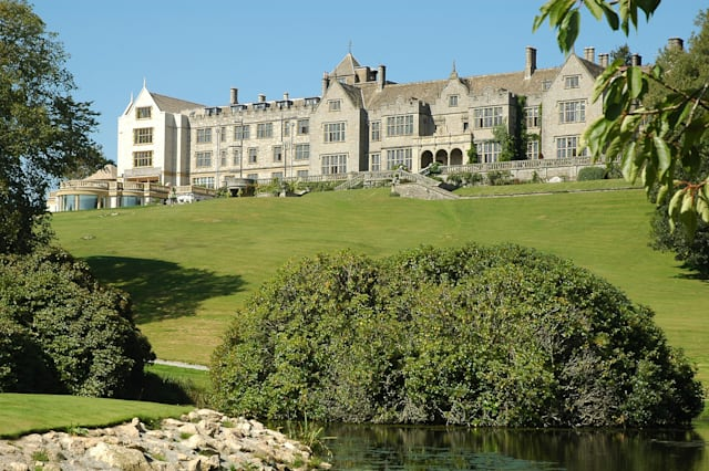 Guests fall 60ft after balcony collapse at Bovey Castle