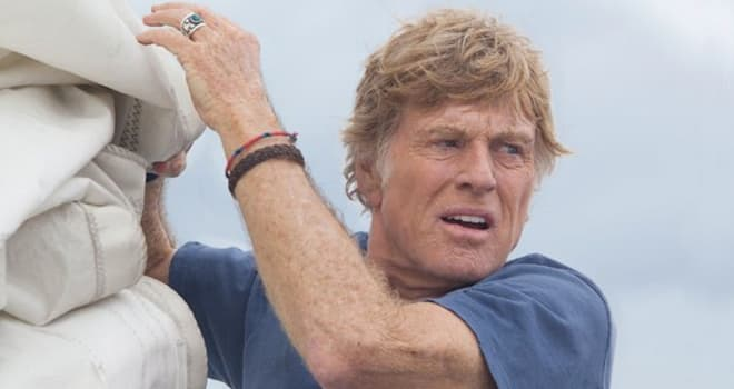 ALL IS LOST  2013 Lionsgate film with Robert Redford