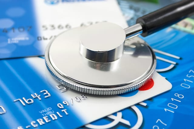stethoscope by  Credit cards payment