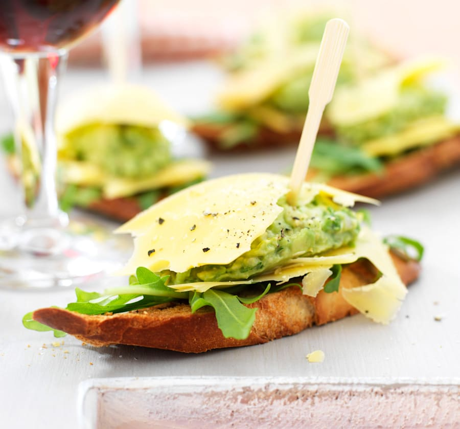 Making crostini doesn't have to be difficult. This is simplicity at its