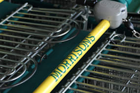 File photo dated 09/05/13 of Morrisons supermarket trolleys as Morrisons is reported to be planning an ?800 million raid on its property empire as it looks to buy time from the City after a poor Christmas. PRESS ASSOCIATION Photo. Issue date: Sunday January 12, 2014. See PA story CITY Morrisons. Photo credit should read: Joe Giddens/PA Wire