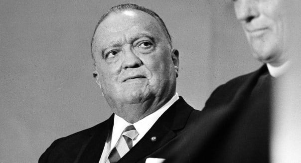 Britain Spy Files (FILE -  This is a 1971 file photo of the late  F.B.I. director J. Edgar Hoover. Overstaffed, overconfident an