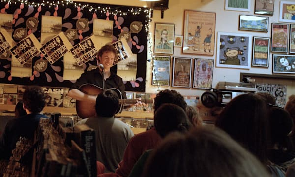 Josh Ritter at Fingerprints Music