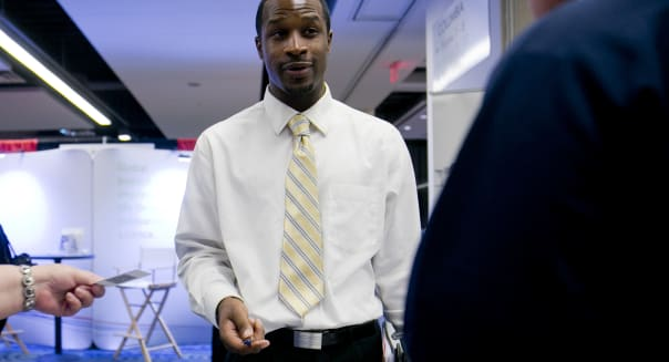 Technology Career Fair Ahead Of Initial Jobless Claims Figures