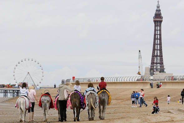 Blackpool Pleasure Beach named UK's top amusement park