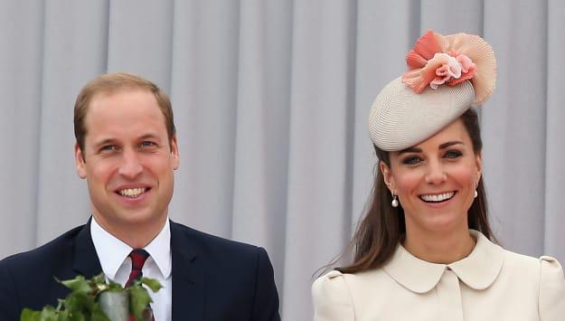 The Duke & Duchess Of Cambridge Attend A Service Of Remembrance