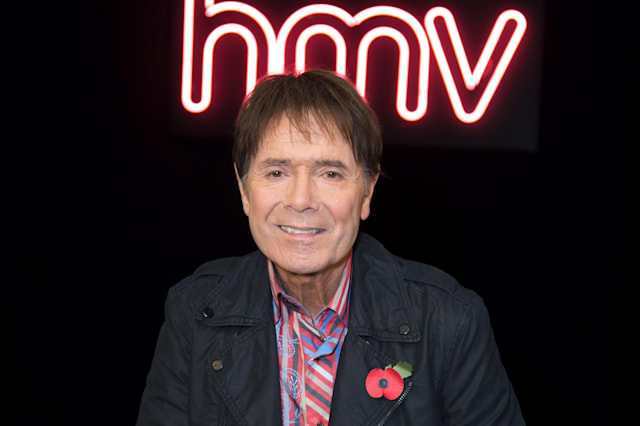 Sir Cliff Richard Signs Copies Of His New Album 'Just Fabulous Rock 'n' Roll'