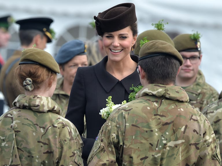 Kate and William on St. Patrick's Day