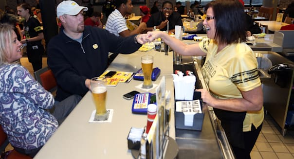 Buffalo Wild Wings beer