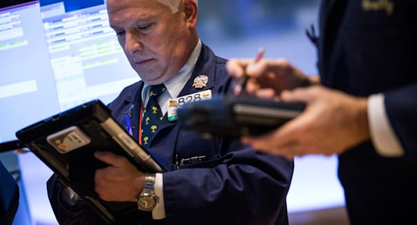 Dow Jones Industrial Averages Trades Higher Throughout Day