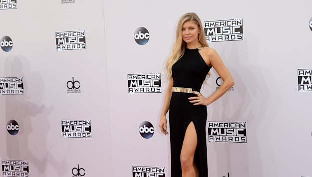 Red carpet arrivals at the American Music Awards 2014