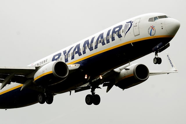 Couple romp onboard Ryanair flight in front of shocked passengers