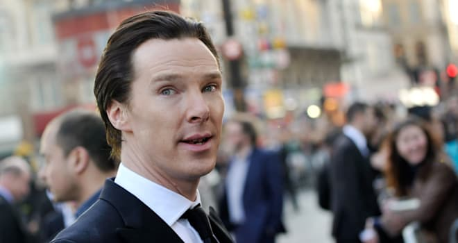 Benedict Cumberbatch at the UK Premiere of 'Star Trek Into Darkness' on May 2, 2013