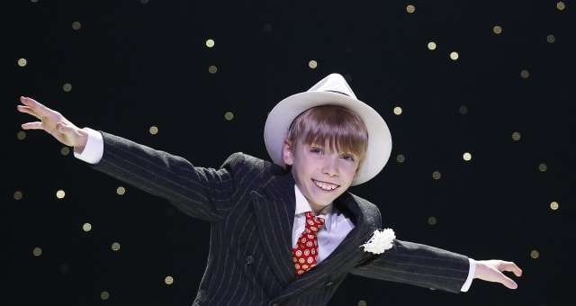 Theater-Tap Dancing Prodigy