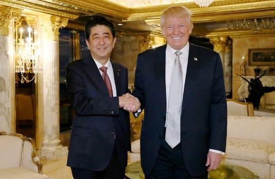 Ça y est, Donald Trump a rencontré son premier dirigeant étranger, le Premier ministre japonaisShinzoAbe,...