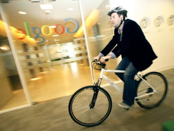 Google Offers Employees Free Bicycles