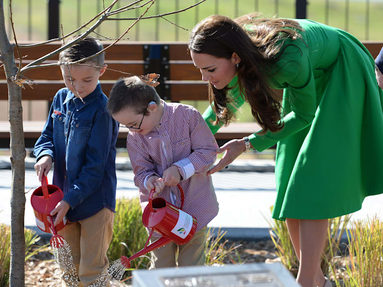 The Duke And Duchess Of Cambridge Tour Australia And New Zealand - Day 18