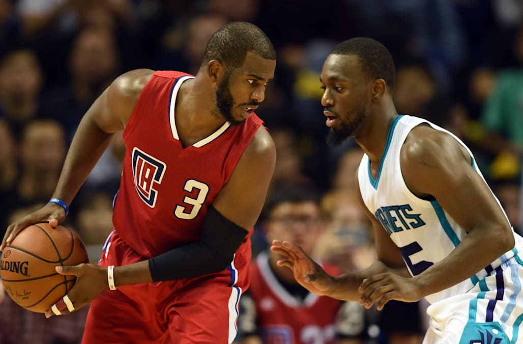 BASKET-USA-CHN-NBA-CLIPPERS-HORNETS
