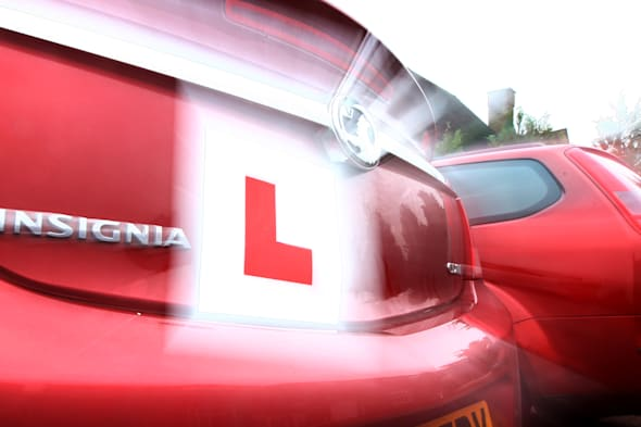 Learner Driver stock