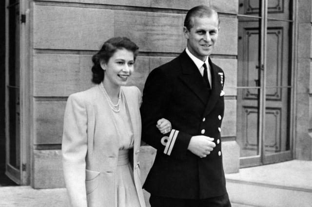 Royal 70th engagement anniversary