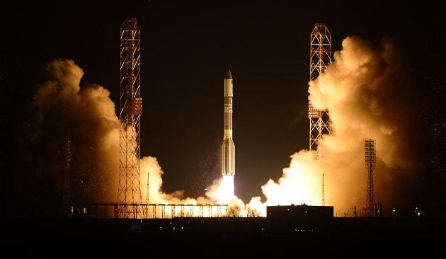 Russia Proton Launch