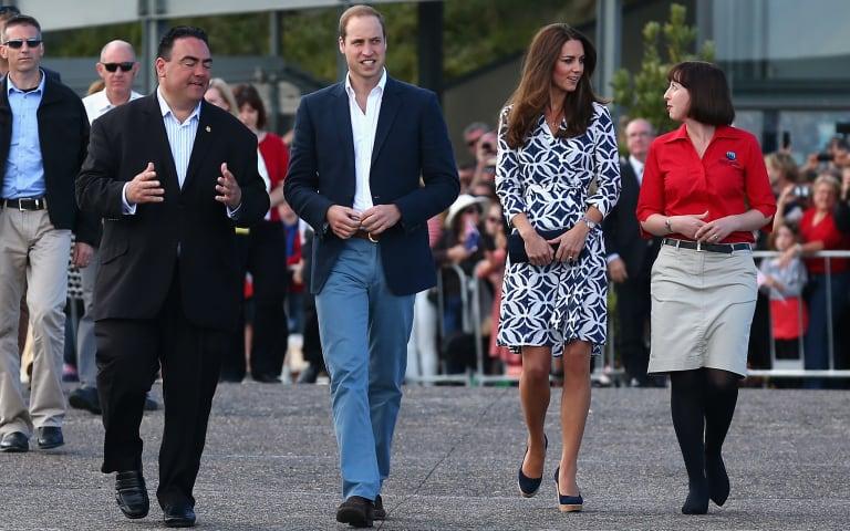 The Duke And Duchess Of Cambridge Tour Australia And New Zealand - Day 11