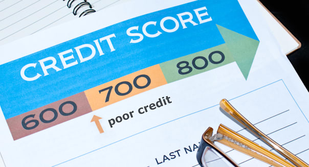 low Credit report