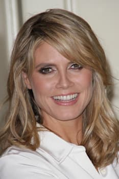 heidi klum celebrates holiday...