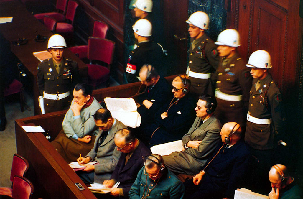 Nazi Leadership On Trial