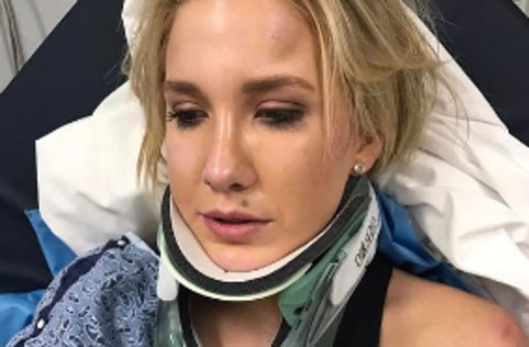 95d3915c5e5 Savannah Chrisley refuses to let her recent car crash keep her from  driving. The 19-year-old Chrisley Knows Best star was involved in ...