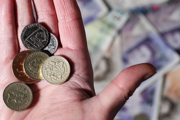 File photo dated 18/03/13 of money as people should be forced to put money into a pension in the same way that they have to pay taxes, according to a think-tank. PRESS ASSOCIATION Photo. Issue date: Wednesday January 22, 2014. Policy Exchange said that a