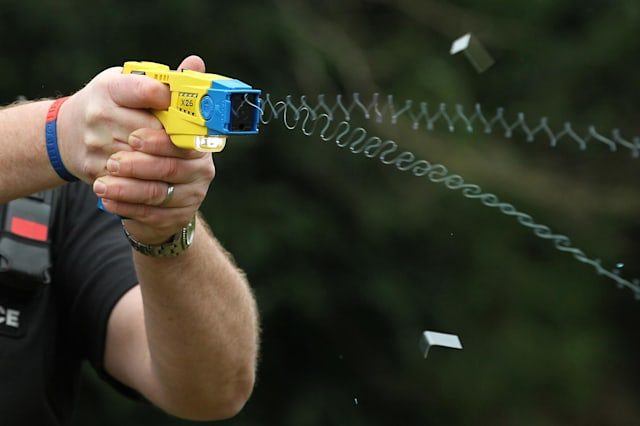 Sussex Police Taser training