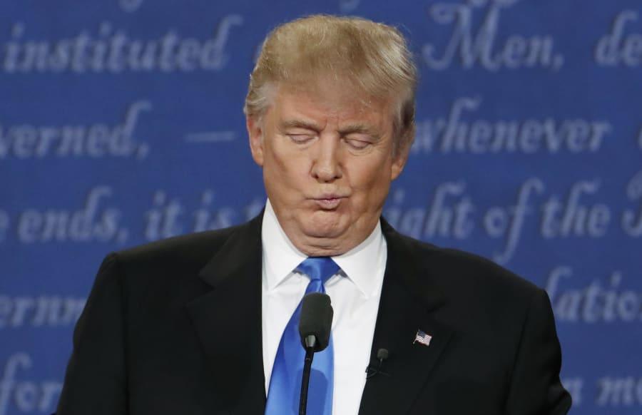 Donald Trump at the first presidential debate of the 2016 U.S. Election. Harvard's Professor Jennifer...