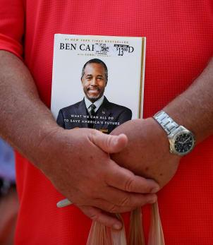 Ben Carson Campaigns At South Carolina Farmer's Market